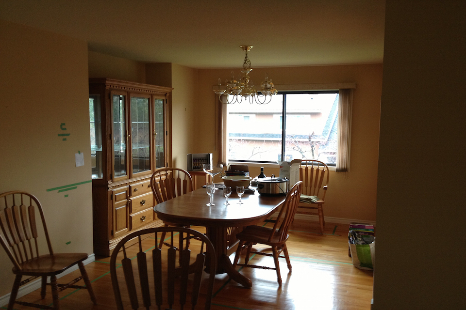 Before-Dining Area